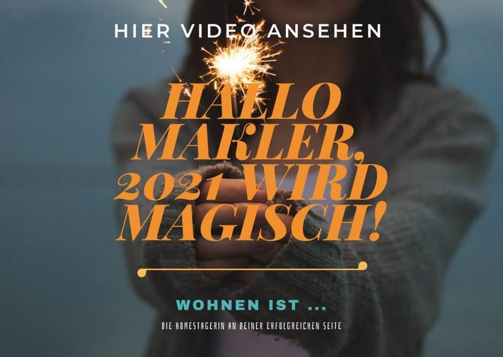 News-Beitrag: Hallo Makler! 2021 wird magisch … denn du wirst unverwechselbar