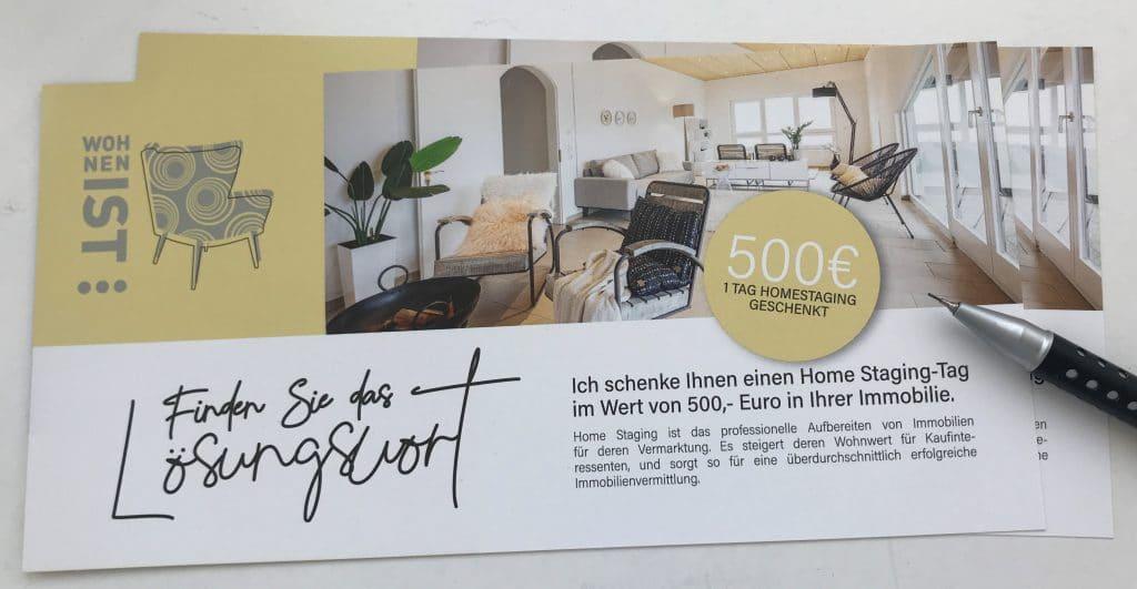 News-Beitrag: Finde das Lösungswort – ich schenke dir einen Home Staging Tag in deiner Immobilie.